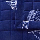 Regina di stile e re europei di lusso Navy Bedspread Coverlet Set
