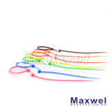 Nacre de câble en plastique auto-verrouillable en nylon 66