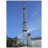 Torre de antena autosuficiente de la difusión de TV de las telecomunicaciones