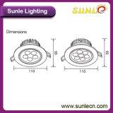 3W/5W/7W 상아빛 백색 라운드 LED에 의하여 중단되는 천장 빛 (SLC)