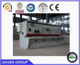 Tonte hydraulique de massicot de QC11Y-12X3200 E21S et machine de découpage de plaque en acier