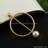 Geometrische Abbildung Perlen-Brosche-Kreistastepin-Schal-Schal-Zubehör