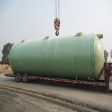 FRPのガラス繊維の流出する処置のための地下の腐敗性タンク