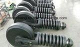 Renvoi d'avant de fournisseur de la Chine/renvoi arrière avec le dispositif Liebherr de tension 912 pièces de rechange de train d'atterrissage de bouteur d'excavatrice de machines de construction