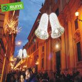 Lumière de porte de maison de lumière de Bell de Noël de DEL et décoration du marché