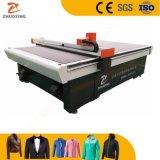 CNC prenda Textil de prendas textiles de patrón de material automático de la tela de paño de máquina de corte de cuero