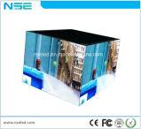 Da parte dianteira interna da cor cheia de Nse parede video orientado para o serviço SMD P3.91 para o anúncio da alameda de compra
