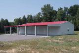 Carport chiaro prefabbricato della struttura d'acciaio del tetto piano (KXD-83)