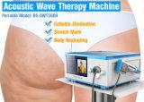 A máquina do tratamento da onda acústica do de alta energia de 5 barras para o Cellulite reduz-se