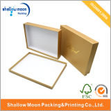 Caja de regalo de papel de encargo del diseño hermoso (QYZ060)