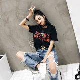 최신 - 목 주문 짧은 소매 새로운 t-셔츠의 둘레에 판매