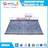 10 tubos de acero inoxidable a presión calentador de agua solar