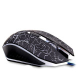 6 Colors Breathing LEDの6つのボタンのAdjustable Dpi Wired USB Gaming Optical Mouse