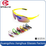 Lunettes de soleil bon marché promotionnelles facultatives des couleurs UV400 de Dropshipping d'usine pour des sports