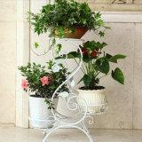 De hete Verkopende Planter van de Bloem van het Ijzer van het Metaal voor de Decoratie van het Huis