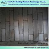 Buen aislamiento Cemnet pared de acero de la luz de panel sándwich de Villa