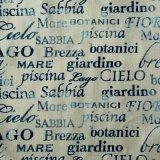Tessuto del sofà della tessile della casa della tappezzeria di stampa di Digitahi della lettera