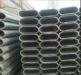Galvanizado en caliente de venta al por mayor 60x30mm, 80x40mm tubo de acero/tubo oval