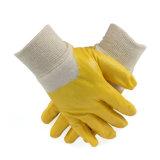 Хлопок гильзы цилиндра блокировки нитриловые перчатки с покрытием 3/4 Private Label