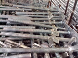 """36 """" Scaffolding solido Levelling Jack con Base Plate O.D. 35mm"""