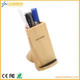 De hoogste Tribune van de Lader van Qi van de Verkoper 7.5W Draadloze Snelle met de Collector van de Pen voor Slimme Telefoons
