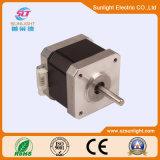 El motor de paso de progresión eléctrico de la C.C. de 2 postes con extensamente utiliza