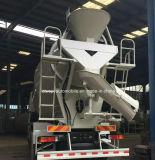 Camion d'agitateur de roues du mélangeur concret 10 de Shacman 10-12 Cbm