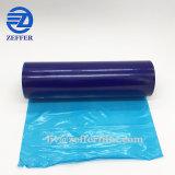 film 40micron bleu pour la protection de surface en verre de guichet