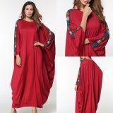 Commerce de gros Abaya musulmane Robe Robe de Dubaï islamique Vêtements Kaftan