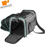 Soft-Sided Removable Travel Dobrável Lavável Cat Dog Bag Pet Carrier