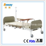 Рукояток больничной койки 2 сбывания Китая кровать горячих медицинская