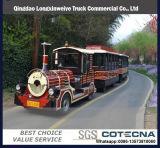 Поезд парка атракционов туристский тепловозный Trackless