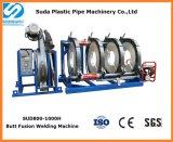 Machine de soudure par fusion de bout de pipe de HDPE de Sud800-1000h