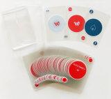 Onzichtbare Speelkaarten - de Duidelijke Plastic Aangepaste Kaarten van 100% -