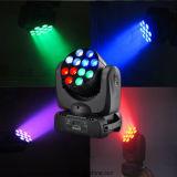 12*10W CREE 4n1 LED Stadiums-Lichtstrahl-beweglicher Kopf