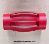 Centralizador centralizador del tubo flexible integral