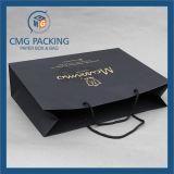 美しい色刷のペーパーによってリサイクルされる紙袋(DM-GPBB-172)