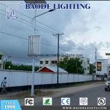 50W con la iluminación solar híbrida de poste de la calle del viento (BDSW998)