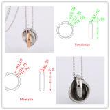 316L Pendant Fashion Edelstahl Jewelry Necklace (hdx1041)