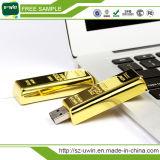 Heißes Förderung-Geschenk goldenes USB-Blitz-Laufwerk