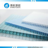 Lago Blue 6mm Plastic Polycarbonate Roof Plates con Coating UV