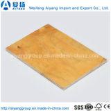1220x2440mm China y de la película enfrenta el contrachapado de madera