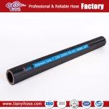 Haut de façon économique de la tresse de fil en acier renforcé souple Flexible en caoutchouc hydraulique
