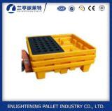 1300X660X150mm piattaforma di plastica di caduta dei due timpani per il barile da olio