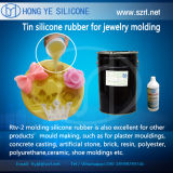 Liquid clair Silicone Rubber pour Jewelry Molds