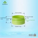Contenedor de almacenamiento de frascos de plástico para la sal de baño 80 ml de embalaje