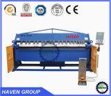 Máquina plegable manual de la placa de acero Wh06-2.0X2040