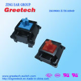 Teclado mecânico Switche ultrafinas-2.5mm de curso usado no notebook