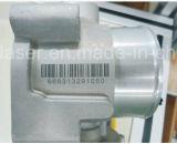 알루미늄에 Mopa 섬유 Laser 표하기 기계 표 검정