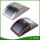 Intelligente Karosserien-Fühler-im Freien Solaryard-Lampen-im Freiengarten-Gang-Wand-Licht